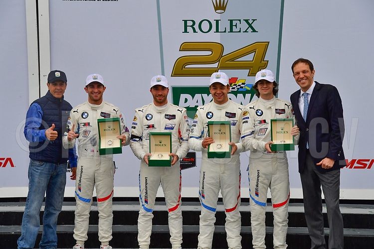 #25 BMW TEAM RLL (USA) BMW M8 GTE GTLM TOM BLOMQVIST (GBR) CONNOR DE PHILLIPPI (USA) PHILIPP ENG (AUT) COLTON HERTA (USA) WINNER GTLM