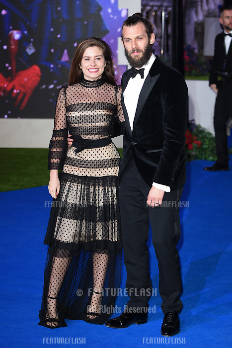 """LONDON, UK. December 12, 2018: Rachel Shenton at the UK premiere of """"Mary Poppins Returns"""" at the Royal Albert Hall, London.<br /> Picture: Steve Vas/Featureflash"""