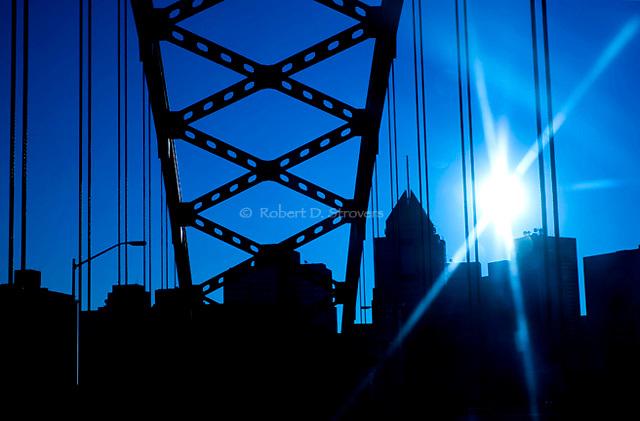Pittsburghs Bridges - Ft Pitt Bridge