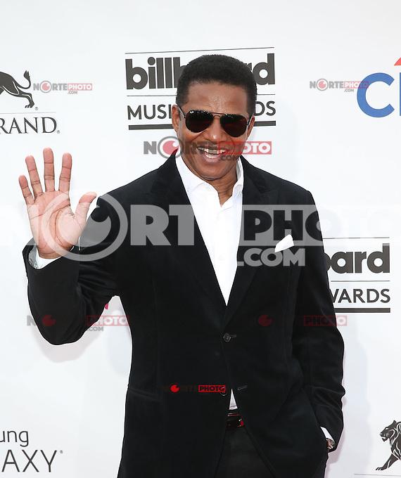 LAS VEGAS, NV - May 18 : Jackie Jackson pictured at 2014 Billboard Music Awards at MGM Grand in Las Vegas, NV on May 18, 2014. ©EK/Starlitepics