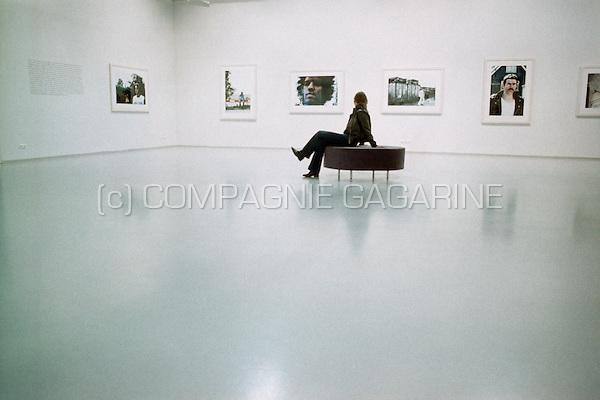 The Anton Corbijn Expo in the Fotomuseum, Antwerp (Belgium, 01/02/2005)