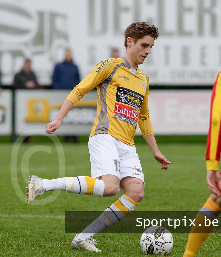 SC Wielsbeke : Robbe Dekiere <br /> Foto VDB / Bart Vandenbroucke