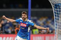 Goal celebration Fernando Llorente of Napoli celebrates after scoring a goal<br /> Napoli 01-12-2019 Stadio San Paolo <br /> Football Serie A 2019/2020 <br /> SSC Napoli - Bologna FC<br /> Photo Cesare Purini / Insidefoto