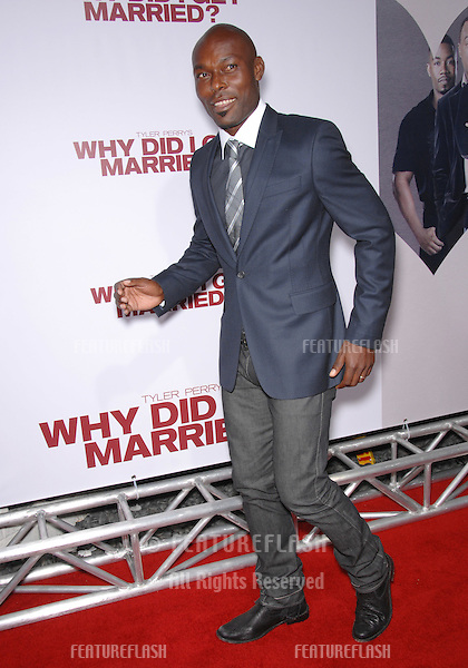 "Jimmy Jean-Louis at the world premiere of ""Why Did I Get Married?"" at the Cinerama Dome, Hollywood..October 5, 2007  Los Angeles, CA.Picture: Paul Smith / Featureflash"