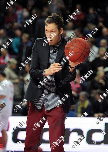2014-01-17 / Basketbal / seizoen 2013-2014 / Antwerp Giants - Charleroi / Brian Lynch<br /><br />Foto: Mpics.be