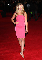 Amy Willerton arriving for the UK Premiere of Jack Ryan, at Vue Leicester Square, London. 20/01/2014 Picture by: Alexandra Glen / Featureflash