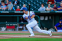 Iowa Cubs outfielder John Andreoli (7) during game two of a Pacific Coast League doubleheader against the Colorado Springs Sky Sox on August 17, 2017 at Principal Park in Des Moines, Iowa. Iowa defeated Colorado Springs 6-0. (Brad Krause/Krause Sports Photography)