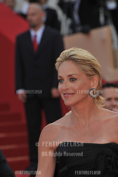 "Sharon Stone at the premiere of ""Inglourious Basterds"" in competition at the 62nd Festival de Cannes..May 20, 2009  Cannes, France.Picture: Paul Smith / Featureflash"
