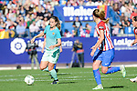 FC Barcelona Alexia Putellas during match of La Liga Femenina between Atletico de Madrid and FC Barcelona at Vicente Calderon Stadium in Madrid, Spain. December 11, 2016. (ALTERPHOTOS/BorjaB.Hojas)