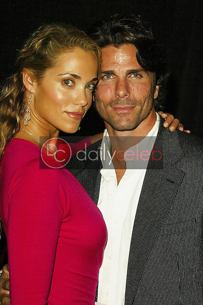 """Elizabeth Berkley and Greg Lauren <br /> At the """"Sounds of the Sacred, Songs of the Earth"""" awards gala, The Friars of Beverly Hills, Beverly Hills, CA 09-15-05<br /> Jason Kirk/DailyCeleb.com 818-249-4998"""