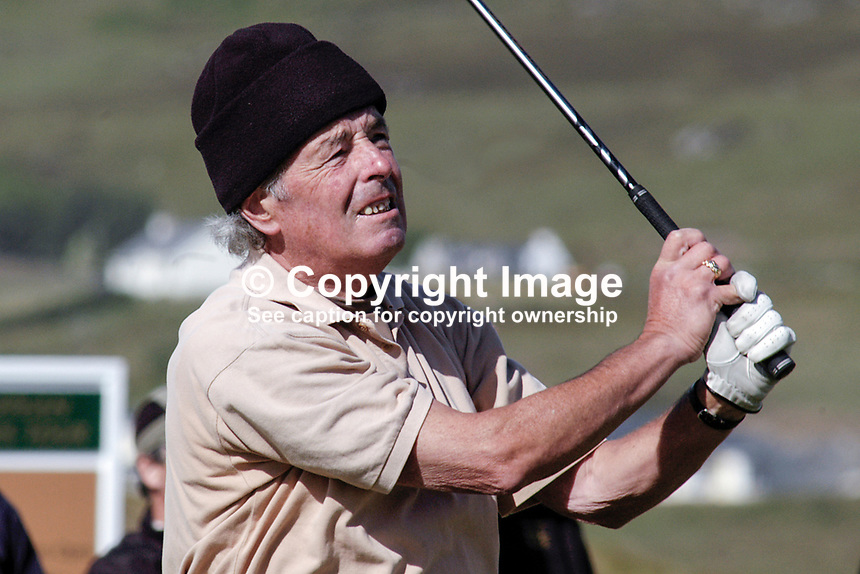 Liam Higgins, Ireland, professional, golfer, Irish Seniors Open, Ballyliffin Old Course, Co Donegal, Ireland, 200806207762   ..Copyright Image from Victor Patterson, 54 Dorchester Park, Belfast, UK, BT9 6RJ..Tel: +44 28 9066 1296.Mob: +44 7802 353836.Voicemail +44 20 8816 7153.Skype: victorpattersonbelfast.Email: victorpatterson@mac.com.Email: victorpatterson@ireland.com (back-up)..IMPORTANT: If you wish to use this image or any other of my images please go to www.victorpatterson.com and click on the Terms & Conditions. Then contact me by email or phone with the reference number(s) of the image(s) concerned.