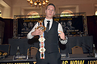 Sam Bowen during a Press Conference at the Landmark London Hotel on 2nd August 2018