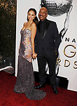 PASADENA, CA - FEBRUARY 11: Actors Amber Stevens West (L) and David Allen Grier arrive at the 48th NAACP Image Awards at Pasadena Civic Auditorium on February 11, 2017 in Pasadena, California.