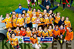 Maith sibh a chail&iacute;n&iacute;<br /> ----------------------------<br /> Gaelscoil Mhic Easmainn, killeen, Tralee celebrate after winning Division 2 final in the Allianz Cumann Na mBunscol against Listellick school, Tralee last Wednesday at Ballymac GAA grounds.