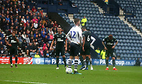 Preston North End's Paul Gallagher waits before scoring his and his sides second goal from the penalty spot<br /> <br /> Photographer Stephen White/CameraSport<br /> <br /> Football Pre-Season Friendly - Preston North End v Newcastle United - Saturday July 27th 2019 - Deepdale Stadium - Preston<br /> <br /> World Copyright © 2019 CameraSport. All rights reserved. 43 Linden Ave. Countesthorpe. Leicester. England. LE8 5PG - Tel: +44 (0) 116 277 4147 - admin@camerasport.com - www.camerasport.com