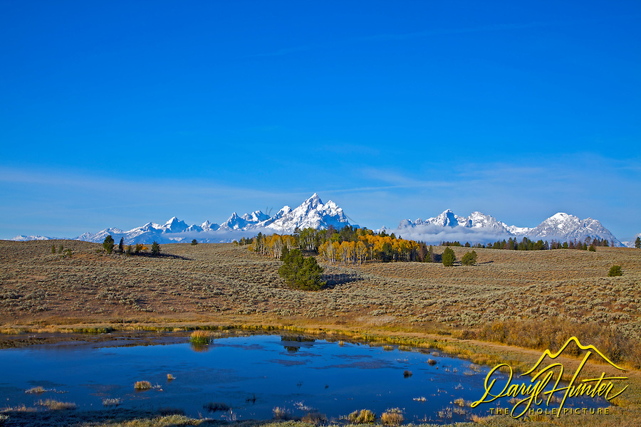 Fall in the Grand Tetons. This is a little know corner of Grand Teton Park and one of my favorites.