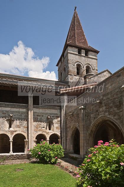 Europe/Europe/France/Midi-Pyrénées/46/Lot/Carennac: Cloitre de l'Eglise Saint-Pierre - Plus Beaux Villages de France