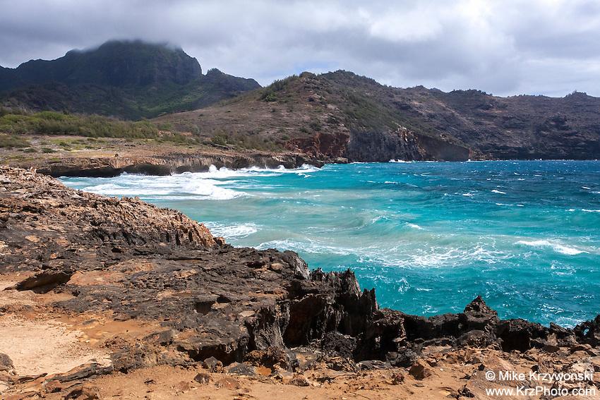 Kawailoa Bay, Maha'ulepu Beach, south shore of Kauai