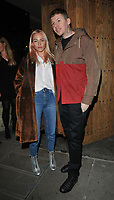Fae Williams and Professor Green ( Stephen Paul Manderson ) at the Cantina Laredo new bar launch party, Cantina Laredo, Upper St Martin's Lane, London, England, UK, on Wednesday 11 October 2017.<br /> CAP/CAN<br /> &copy;CAN/Capital Pictures