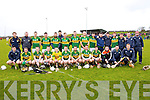 Kerry team who played Kildare in the National Hurling League at Abbeydorney on Sunday.