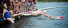 Serpentine Swimming Club <br /> Christmas Day Swimming race <br /> Serpentine, Hyde Park, London, Great Britain <br /> 25th December 2016 <br /> <br /> <br /> <br /> <br /> Photograph by Elliott Franks <br /> Image licensed to Elliott Franks Photography Services
