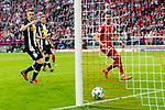 14.04.2018, Allianz Arena, Muenchen, GER, 1.FBL,  FC Bayern Muenchen vs. Borussia Moenchengladbach, im Bild  Tor zum 1-1 durch Sandro Wagner (FCB #2) <br /> <br />  Foto &copy; nordphoto / Straubmeier