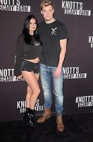 Ariel Winter, Levi Meaden<br /> at Knott's Scary Farm and Instagram Celebrity Night, Knott's Berry Farm, Buena Park, CA 09-29-17<br /> David Edwards/Dailyceleb.com 818-249-4998