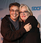 Tony Taccone and Lisa Peterson during The Third Annual SDCF Awards at The The Laurie Beechman Theater on November 12, 2019 in New York City.