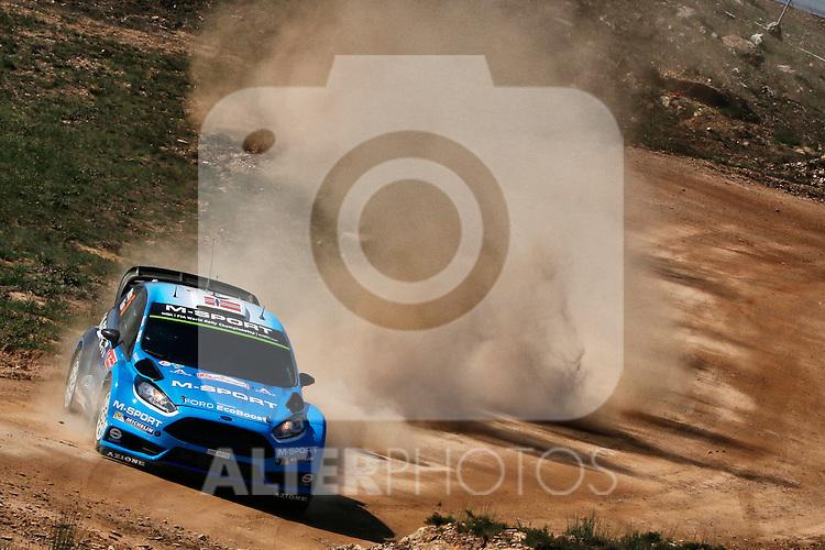 Mads Ostberg  ( NOR )   /  Ola Floene  ( NOR )  -  Ford Fiesta WRC