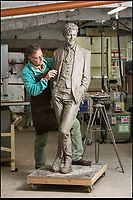Return of the 'Thin White Duke' - First Bowie sculpture.
