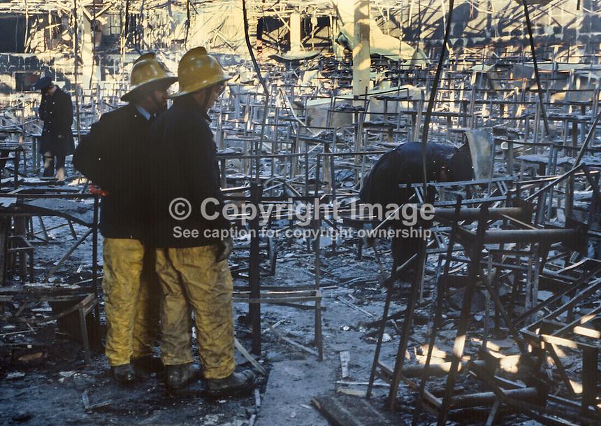 Stardust Fire Tragedy, Stardust Nightclub, Artane, Dublin, Ireland, Early  Hours,