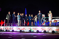 The Opening Ceremony at the Centennial Hall, Wroclaw. 2017 POL-FEI European Eventing Championship, Strzegom, Poland. Tuesday 15 August. Photo Copyright: Libby Law Photography