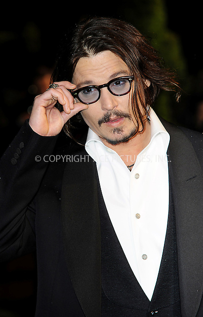 "WWW.ACEPIXS.COM . . . . .  ..... . . . . US SALES ONLY . . . . .....February 25 2010, New York City....Johnny Depp at the UK premiere of ""Alice in Wonderland"" on February 25 2010 in London......Please byline: FAMOUS-ACE PICTURES... . . . .  ....Ace Pictures, Inc:  ..tel: (212) 243 8787 or (646) 769 0430..e-mail: info@acepixs.com..web: http://www.acepixs.com"