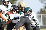 October 9, 2009: Ridge Abraham (#1) Dylan Redondo (South #33), Ryan Dobie (South #2)