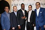 Jeff Bionder, Stefen Reinhardt, Colman Domingo, Yoel Floher and Josh Sapan attends the Vineyard Theatre Gala honoring Colman Domingo at the Edison Ballroom on May 06, 2019 in New York City.