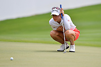 PATTAYA, THAILAND - FEBRUARY 22: Azahara Munoz of Spain on the 18th green during the second round of the Honda LPGA Thailand 2019 at Siam Country Club Pattaya (Old Course), Pattaya, Thailand on February 22, 2019.<br /> .<br /> .<br /> .<br /> (Photo by: Naratip Golf Srisupab/SEALs Sports Images)<br /> .<br /> Any image use must include a mandatory credit line adjacent to the content which should read: Naratip Golf Srisupab/SEALs Sports Images