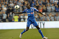 Hassoun Camara (6) defender Montreal Impact in action..Sporting Kansas City defeated Montreal Impact 2-0 at Sporting Park, Kansas City, Kansas.