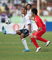 Stefan Jerome. US Under-17 Men's National Team defeated United Arab Emirates 1-0 at Gateway International  Stadium in Ijebu-Ode, Nigeria on November 1, 2009.