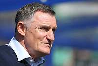 Blackburn Rovers manager Tony Mowbray <br /> <br /> Photographer Rob Newell/CameraSport<br /> <br /> The EFL Sky Bet Championship - Queens Park Rangers v Blackburn Rovers - Friday 19th April 2019 - Loftus Road - London<br /> <br /> World Copyright © 2019 CameraSport. All rights reserved. 43 Linden Ave. Countesthorpe. Leicester. England. LE8 5PG - Tel: +44 (0) 116 277 4147 - admin@camerasport.com - www.camerasport.com