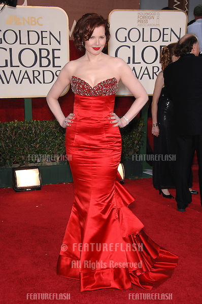 GEENA DAVIS at the 63rd Annual Golden Globe Awards at the Beverly Hilton Hotel..January 16, 2006  Beverly Hills, CA.© 2006 Paul Smith / Featureflash