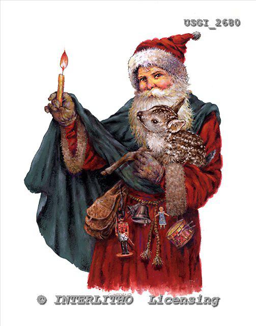 GIORDANO, CHRISTMAS SANTA, SNOWMAN, WEIHNACHTSMÄNNER, SCHNEEMÄNNER, PAPÁ NOEL, MUÑECOS DE NIEVE, nostalgic, paintings+++++,USGI2680,#X# nostalgic,vintage