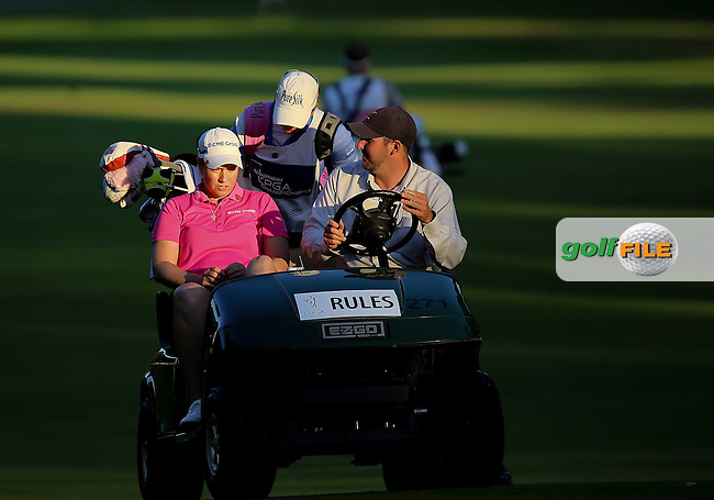 17 August 14 Korean Inbee Park enjoying Sunday's Final Round of The Wegman's LPGA Championship at The Monroe Golf Club in Pittsford, New York. (photo credit : kenneth e. dennis/kendennisphoto.com)