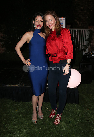 LOS ANGELES, CA - NOVEMBER 4: Emmanuelle Vaugier, Josie Davis, at The 2017 Fluffball Benefiting Forgotten Horses Rescue! at The Lombardi House In Los Angeles, California on November 4, 2017. Credit: Faye Sadou/MediaPunch