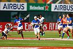 Camille Grassineau, Womens Sevens on 29 November, Dubai Sevens 2018 at The Sevens for HSBC World Rugby Sevens Series 2018, Dubai - UAE - Photos Martin Seras Lima