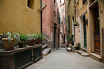 Alleyway in Vernazza Italian Riviera