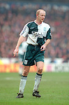Mark Wright of Liverpool - Premier League - Nottingham Forest v Liverpool - City Ground - Nottingham - England - 23rd March 1996 - Picture Simon Bellis/Sportimage