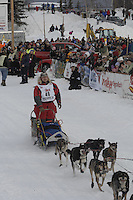 Michael Suprenant Willow restart Iditarod 2008.