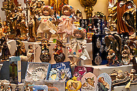 Religious articles shop, Toledo, Spain