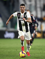 Calcio, Serie A: Juventus - Caglairi, Turin, Allianz Stadium, November 3, 2018.<br /> Juventus' Cristiano Ronaldo in action during the Italian Serie A football match between Juventus and Cagliari at Torino's Allianz stadium, November 3, 2018.<br /> UPDATE IMAGES PRESS/Isabella Bonotto