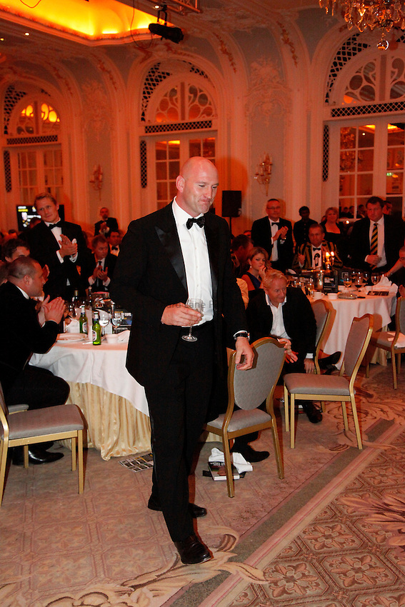 Photo: Richard Lane/Richard Lane Photography. London Wasps Hall of Fame Dinner 2011. 28/09/2011. Lawrence Dallaglio.